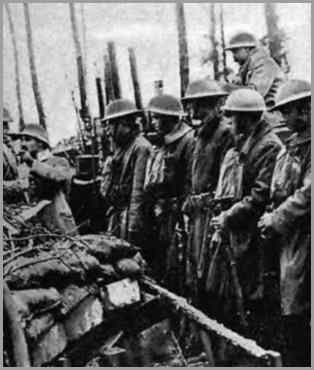 165th Infantry at Coismare